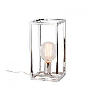 Lámpara De Escritorio Industrial Y Retro Sigalo Chrome