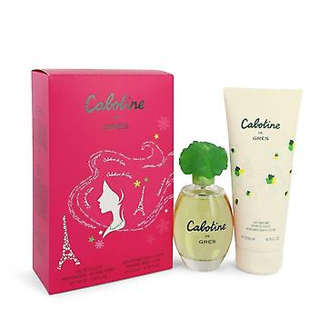 Set de regalo de Cabotine Parfums Gres 3.4 oz Eau De Toilette Spray + loción corporal de 6.7 oz