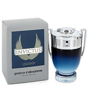 Invictus Legende Eau De Parfum Spray von Paco Rabanne 1,7 Oz Eau De Parfum Spray