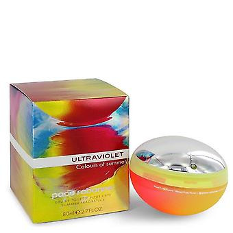 Ultraviolet Colours Of Summer Eau De Toilette Spray By Paco Rabanne 2.7 oz Eau De Toilette Spray