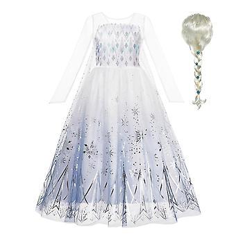 Kar Kraliçesi Elsa Elbise, Cadılar Bayramı Kostüm Prenses Elbiseleri
