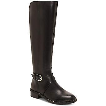 INC International Concepts Womens Fadora Boot Leder Runde Zehen Knie hohe Reitstiefel