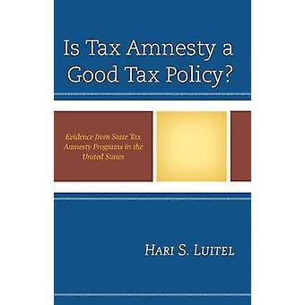 Amnesty fiscale è una buona politica fiscale? - Prove da Amnistia fiscale statale Pr