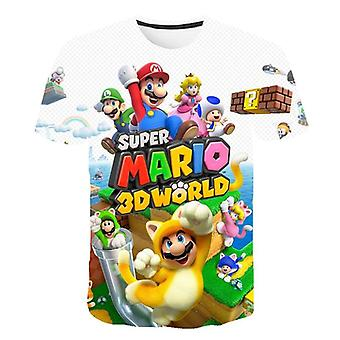 Latest Classic Games Super Mario Child And T-shirt