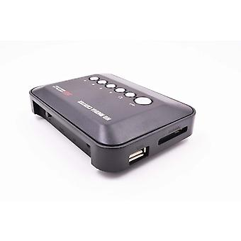 Mini Full Hd1080p H.264 Mkv Hdd Media Player Center With Hdmi-compatible