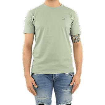 C.P.Company T-Shirts - Short Sleeve Green 10CMTS037005100W631 Top