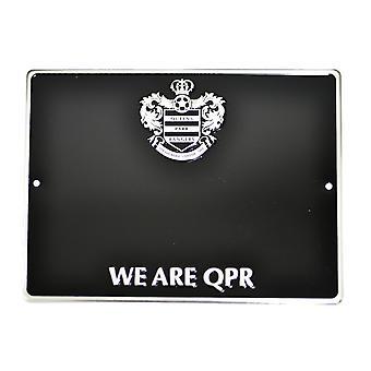 Queens Park Rangers FC Urzędnik Jesteśmy QPR Football Crest House numer tablicy / znak