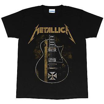 Metallica Womens/Ladies Hetfield Guitar Boyfriend T-Shirt