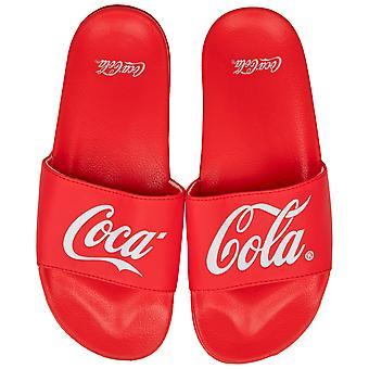 Coca-Cola Split Print Flip Flop Slides