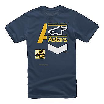 Alpinestars Label Tee - Navy