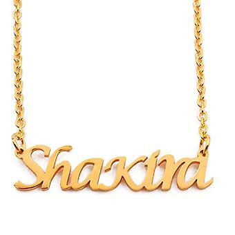 KL Kigu Shakira, vrouwen ketting met gepersonaliseerde naam, modieuze sieraden, cadeau voor vriendin, moeder, zus