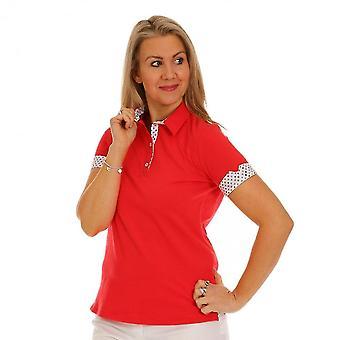 TINTA Tinta Red Polo Shirt Cascaras