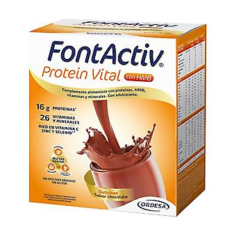 Fontactiv Vital Protein Chocolate 14 packets
