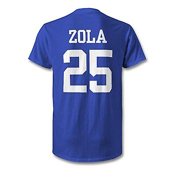 Gianfranco zola chelsea legende held t-shirt