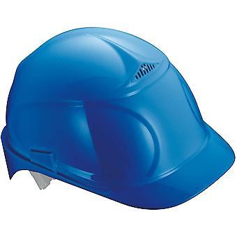 Airwing B Schutzhelm - Belüfteter Arbeitshelm für die Baustelle - Blau Blau