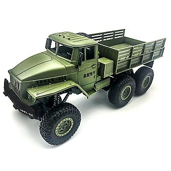 1:16 High Speed RC Car Military Truck  Off road Model Toy for Kids Birthday Gift RC Trucks(Green)