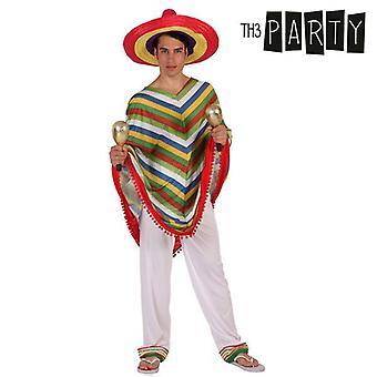 תחפושת למבוגרים מקסיקני גבר