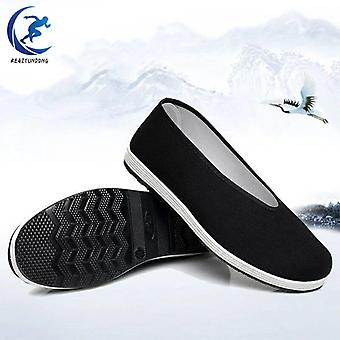Hommes Femmes Chinois Traditionnel Vieux Pékin Kung Fu Chaussures