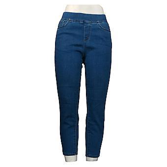 الدنيم وشركاه المرأة جينز بيتيت دنيم لينة تمتد 5-جيب الأزرق A309758