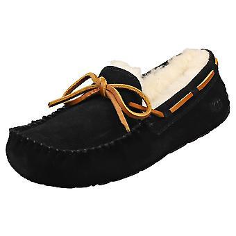 UGG Dakota Womens Slippers Shoes in Black