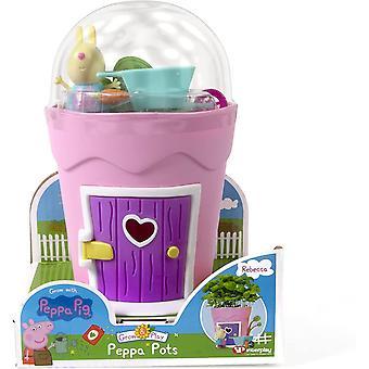 Peppa Pig Grow & Play Peppa Pots - Rebecca Rabbit, PP103