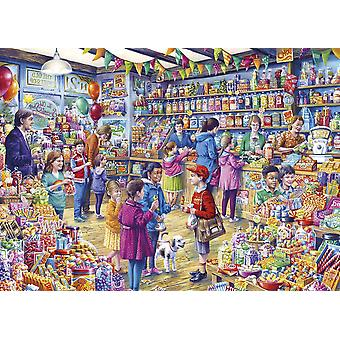 Gibsons The Old Sweet Shop Jigsaw Puzzle (1000 Pièces)