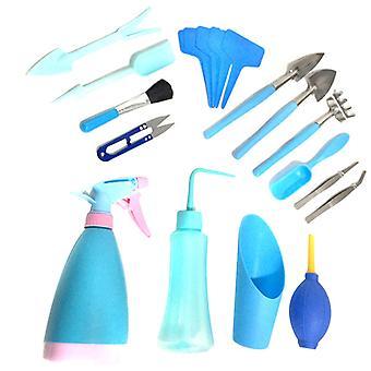 19pcs Garden Planting Tools Set Potted Transplant Tool Kit