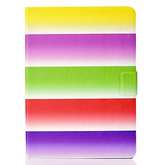 Case For Ipad Pro 12.9 2021 Cover With Auto Sleep/wake Pattern Magnetic - Rainbow