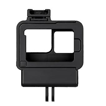 GP-FMS-008 Protective Shell Case with Cold Shoe Mount for GoPro Hero 7 6 5 Black Action Sports