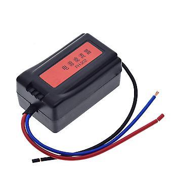 Dc 12V Netzteil Vorverdrahtet Schwarz Kunststoff Audio Power Filter