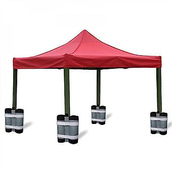 Evago Evago 4pcs Canopy Tent Weights For Legs, Heavy Duty 600d Gazebo Weights Bag, Sandbags With Long Belt For Any Pop Up Tent Gazebo Canopy Outdoor S