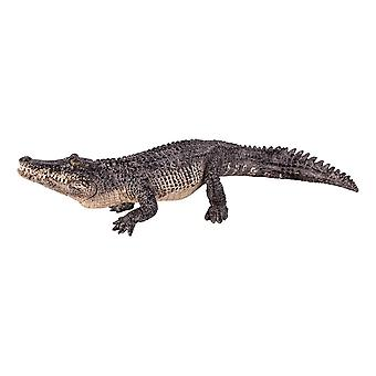 Wild Life & Woodland Alligator with Articulated Jaw Toy Figure