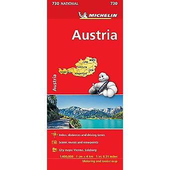 Austria  Michelin National Map 730 Map Michelin National Maps