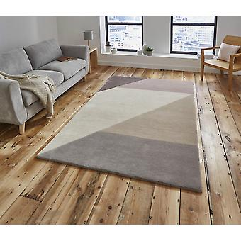 Think Elements EL83 BEIGE PEACH  Rectangle Rugs Plain/Nearly Plain Rugs