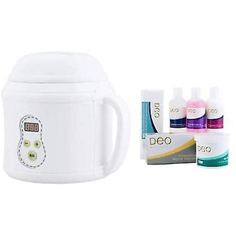 DEO Digital Heater Kit med temperaturminne & kontroll för vaxning - 500cc