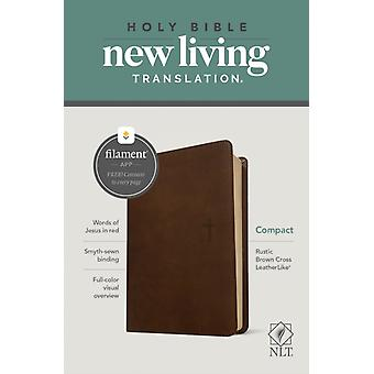 NLT Compact Bible Filament Enabled Edition Rustic Brown