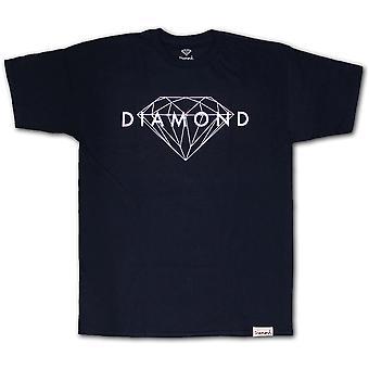 Diamond Supply Co Brilliant T-shirt Navy