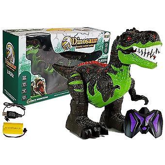 Rádiem řízený dinosaurus - Tyrannosaurus rex - se světlem a zvukem - 38 cm