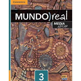 Mundo Real Media Edition Nivå 3 Studenter Bok pluss 1year ELEteca Tilgang av Celia Meana &EDUARDO APARICIO