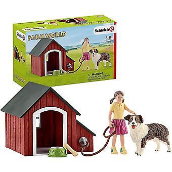 Ant farms dog kennel playset