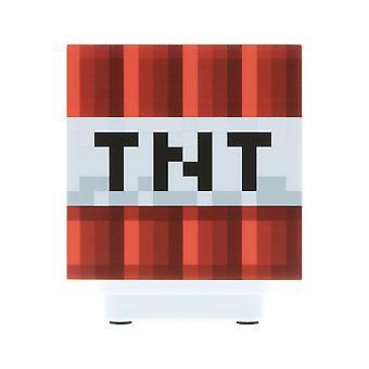Minecraft, lámpara con sonido - TNT