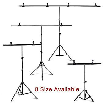 Camera accessory sets photography photo studio t-shape backdrop background stand frame support system kit for video chroma