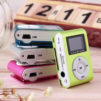 Hordozható Mp3 zenelejátszó Mini Media Zenelejátszó Divat 2-16GB Mp3 lejátszó