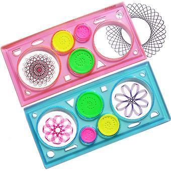 子供のための2pcsマジックドローイングボードクラフトボードゲーム子供のためのカードゲームおもちゃボードゲームの贈り物