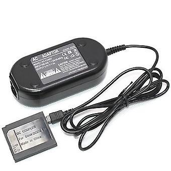 Dot.Foto Ersatz Panasonic DMW-AC5 Netzadapter Netzstecker und DC-Koppler DMW-DCC10 - UK 3-Pin Netzkabel [siehe Beschreibung für Kompatibilität] im Lieferumfang