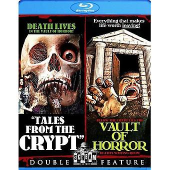 Tales From the Crypt/Vault di importazione USA Horror [BLU-RAY]