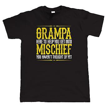 Grampa ugagn mens Funny T-skjorte, bursdag Fathers dag gave til bestefar