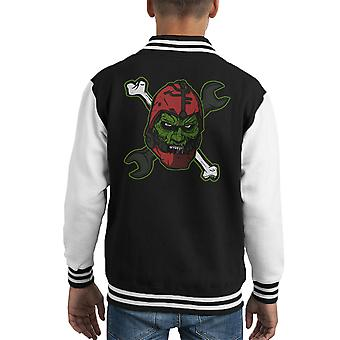 Wizard Of Weapons Masters Of The Universe Kid's Varsity Jacket