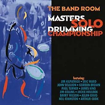 Masters Solo Drumming Champ - Masters Solo Drumming Champion [CD] USA import