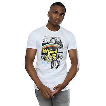 The Wizard Of Oz Men's Distressed Movie Poster T-Shirt